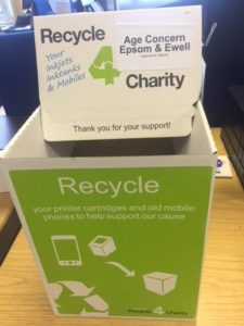 Charity recycling box
